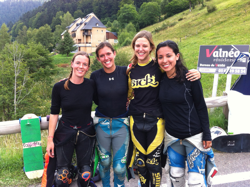 Women finalists @ Peyragudes 2014