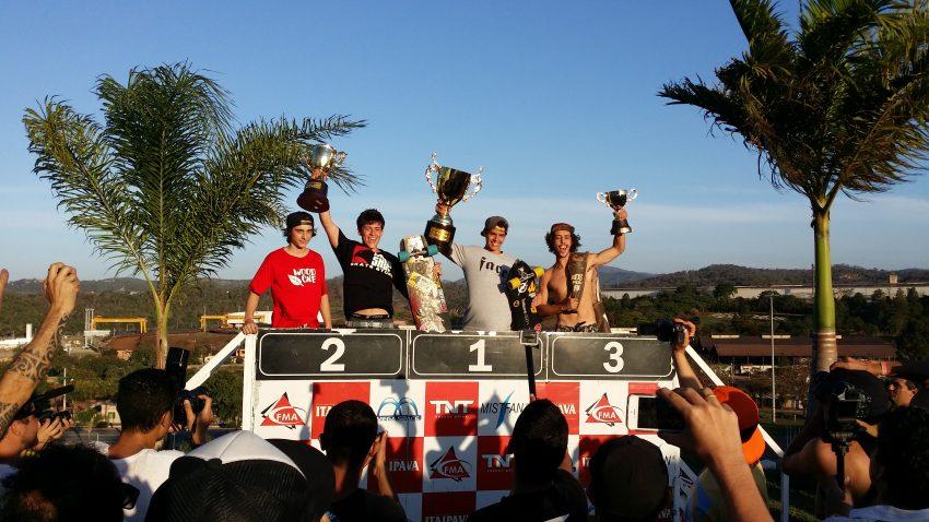 Mega GP Juniors Podium