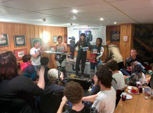 Mt. Ruapehu Women podium