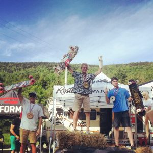 Juniors podium - Killington 2015