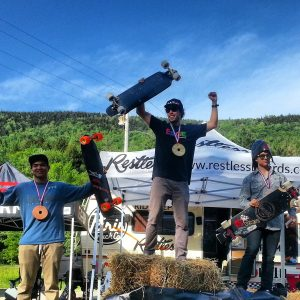 Open podium - Killington 2015