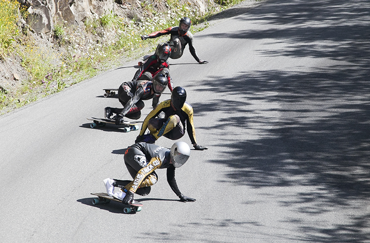 Sliding for a hairpin @ Lilyhammer 2015 by Martin Espeseter