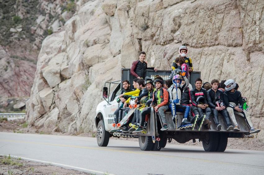 Rider uplift @ La Violenta by Emiliano Pineda