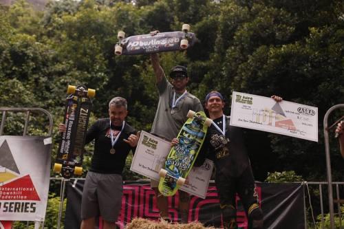 Mt. Keira Open podium 2016