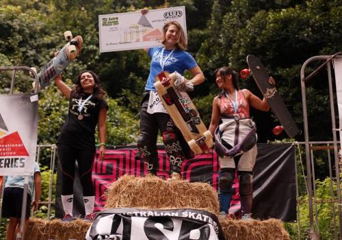 Mt. Keira women's podium 2016
