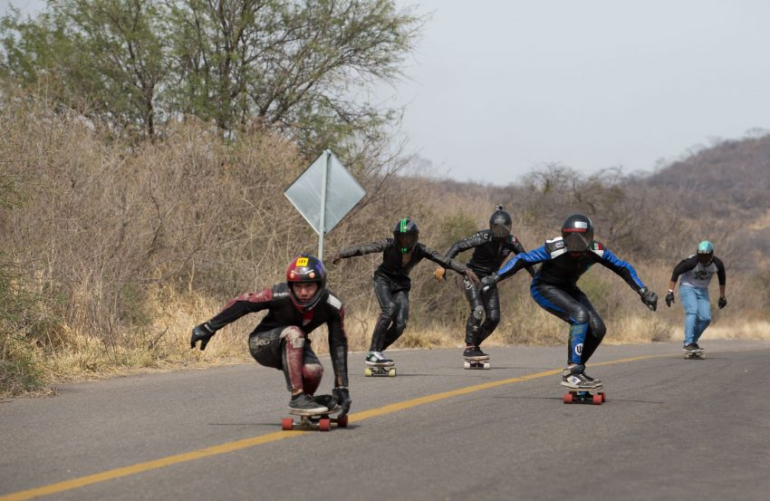 Don't count out any rider, Every skater was charging hard each run
