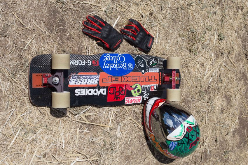 Emily Pross Deck: Pro Moonshine Tucker Trucks: Ronin 134mm Front 124mm back 45/30 degree Wheels: R.A.D. Max Ballesteros influence 74mm 77a Bushings: Factory Bushings