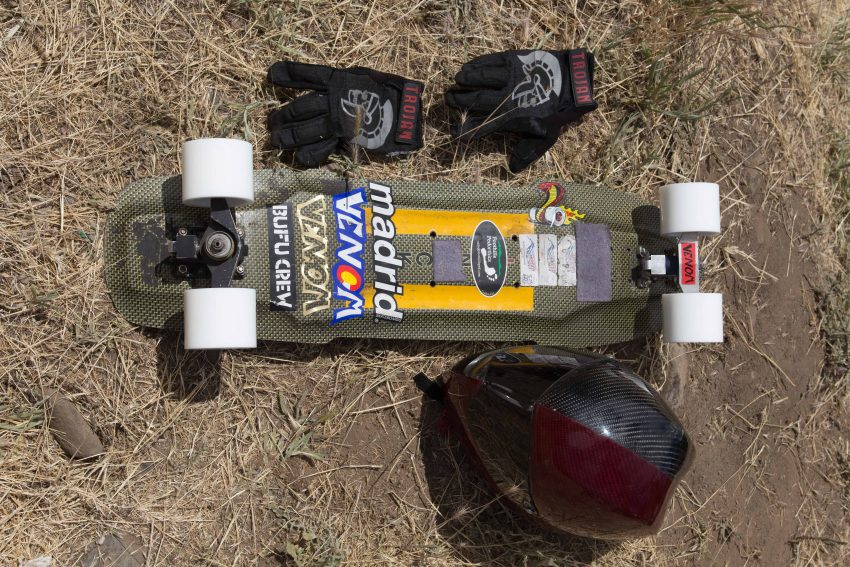 Zak Maytum Deck: Pavel Pirnack Trucks: G.O.G. Wheels: Venom Mach 1's Bushings: Venom Grip Tape: Gangster Grip Hardware: Bombsquad Footstop