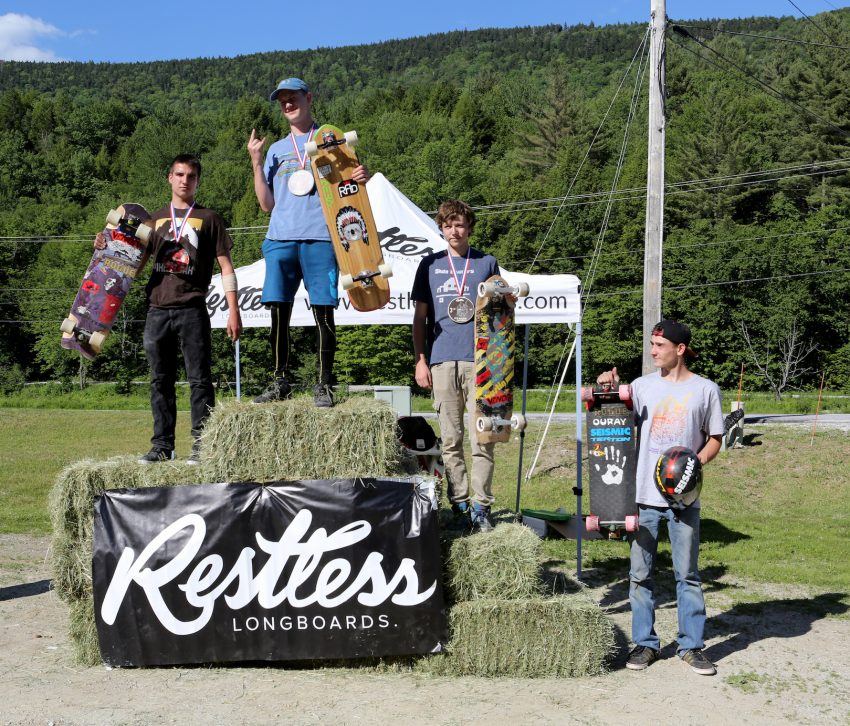 Junior Podium. Pic: Marion Ross