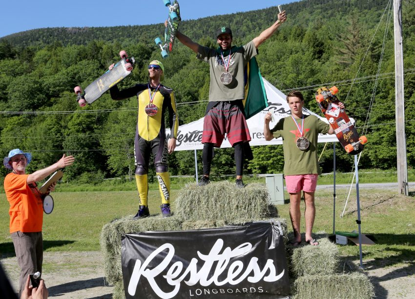 Open Skateboard Podium. Pic: Marion Ross