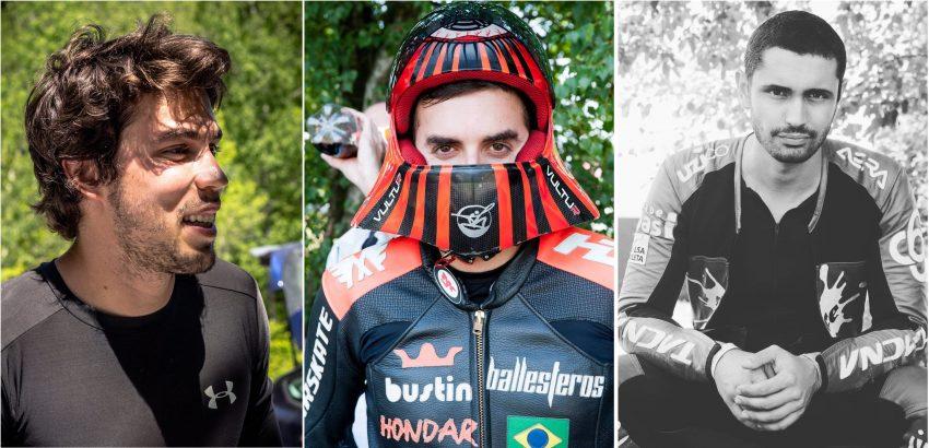 Thiago Gomes Lessa, Max Ballesteros, Carlos Paixão Pics: Harfang & Arne Valen