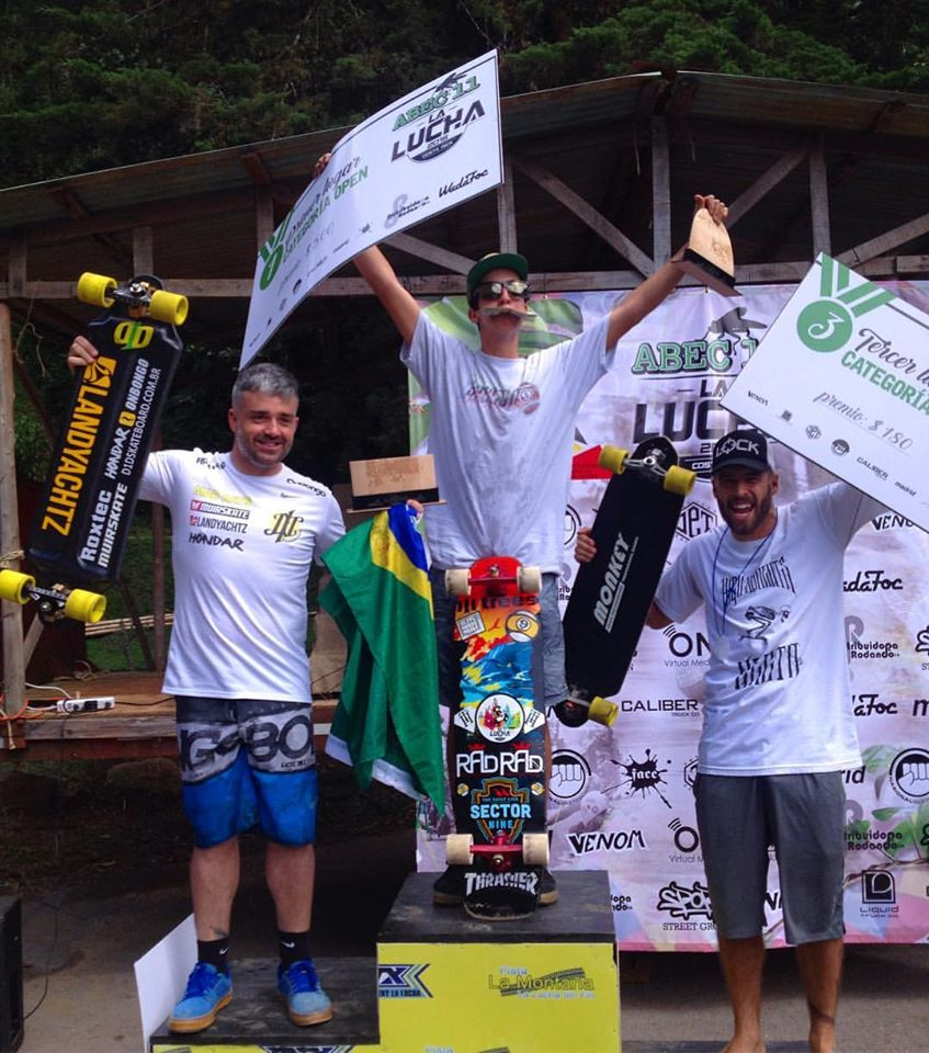 La Lucha Open Podium
