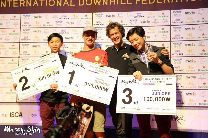 Arirang Hill Juniors Podium