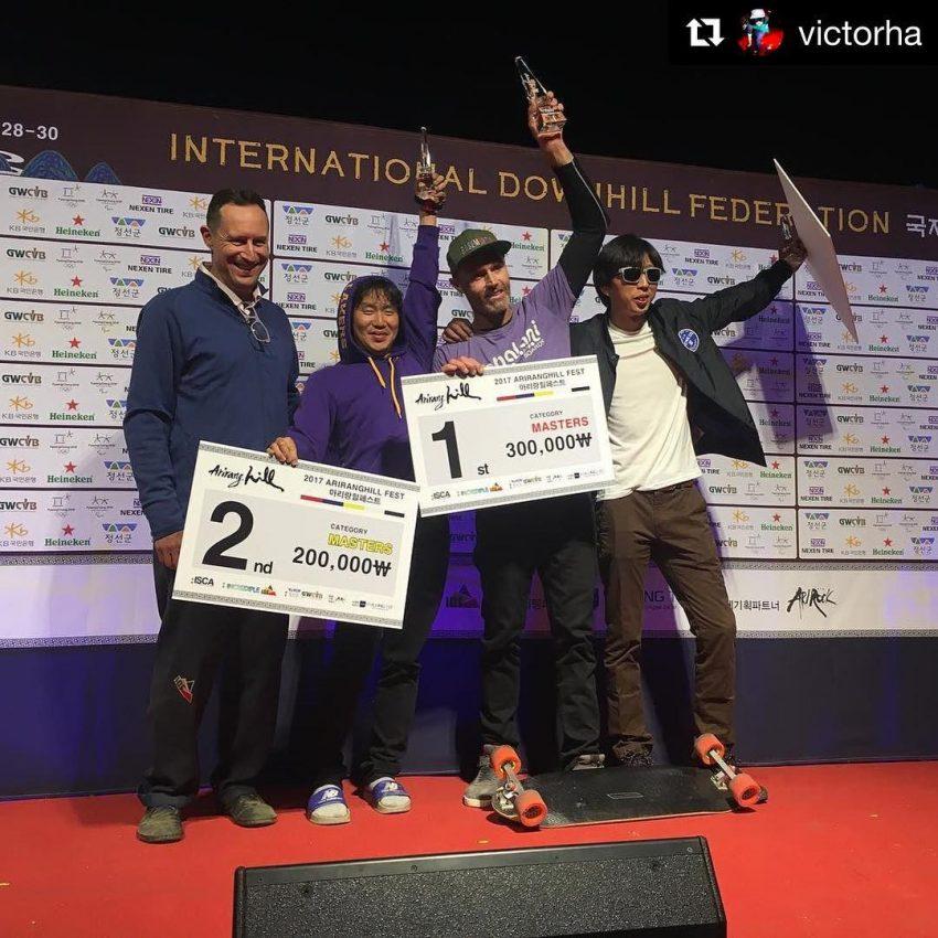 Arirang Hill Masters Podium