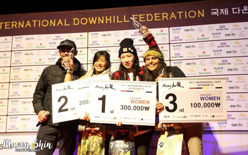 Arirang Hill Womens Podium