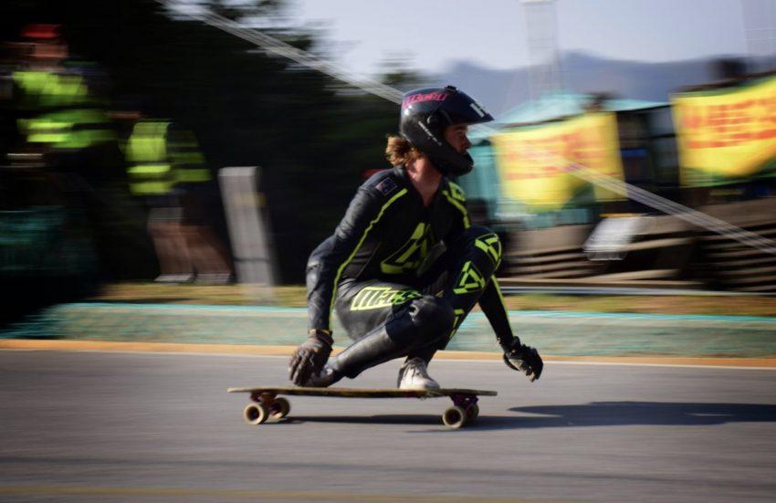 Zak Mills-Goodwin; AustralAsian Open Skateboard 3rd place 2017. Pic: Taylor Bast