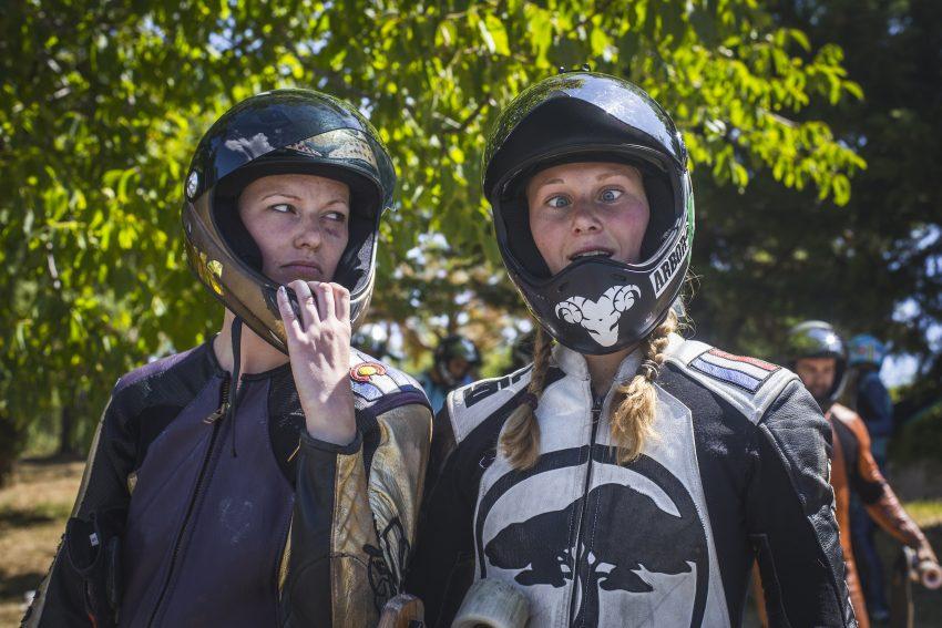 Candy Dungan and Lisa Peters. Pic: Daria Bondarenko