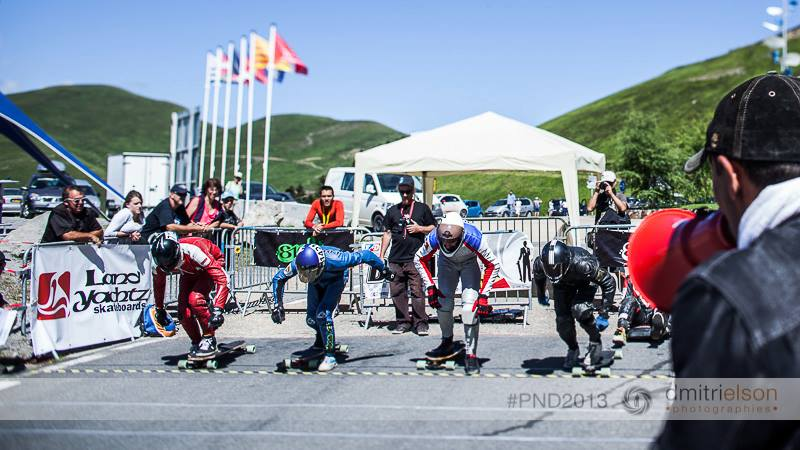 Riders at the start @ Peyragudes Never Dies 2013