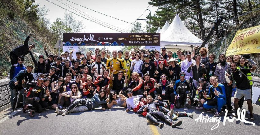 All together in Arirang hill