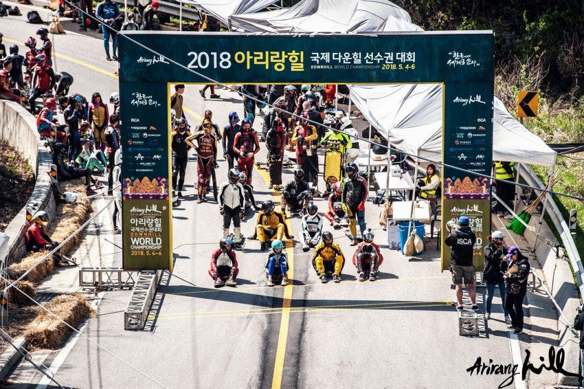 Arirang Hill start line