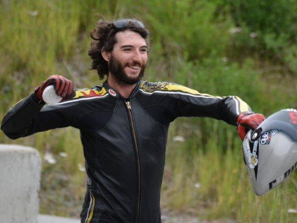 Jimmy Riha qualifies 1st at Whistler