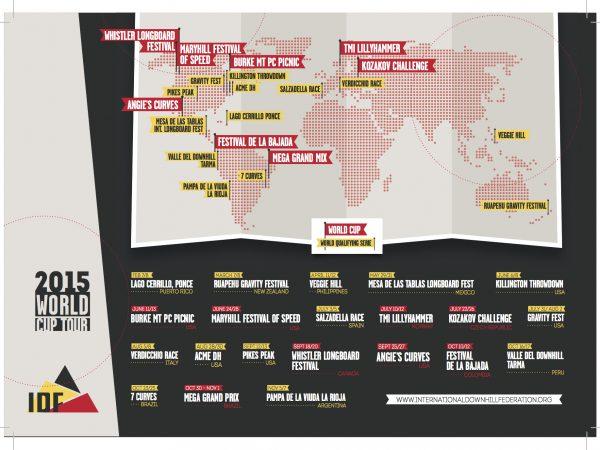 2015 IDF World Tour Schedule