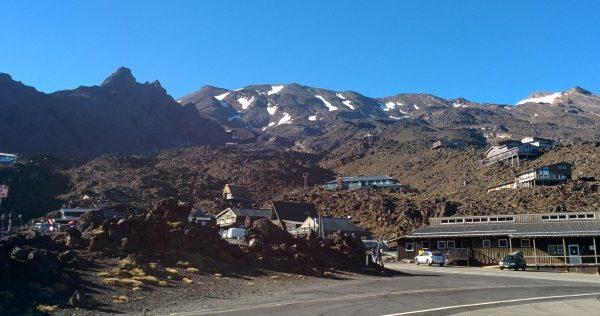 Waiting for Mt Ruapehu
