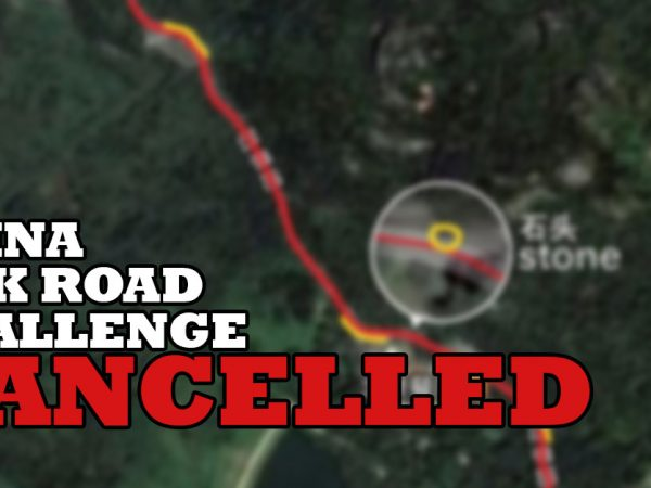 Silk Road Challenge: race cancelled
