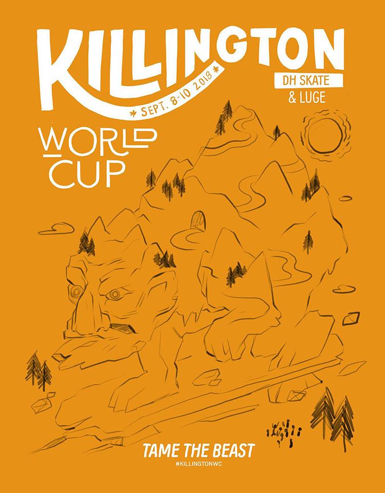 Poster Killington 2018