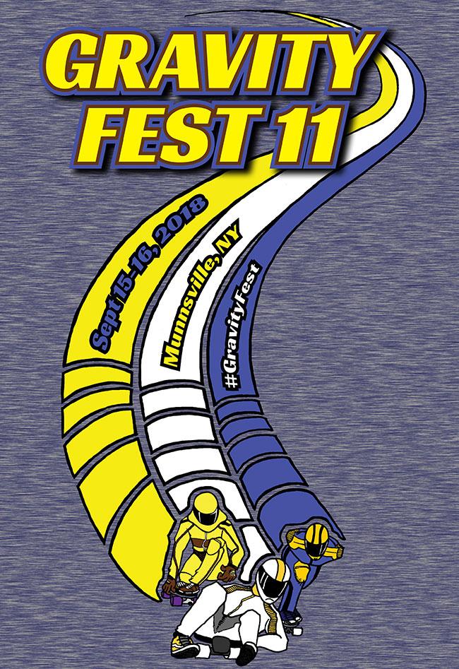 Poster Gravity Fest 2018