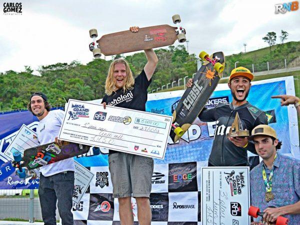 Persson, Bontorin, Eduardo and Borton win Brazil's Mega Grand Prix