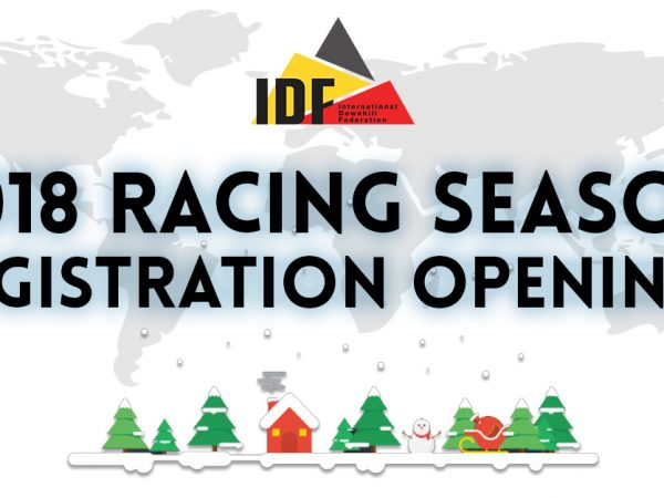 2018 IDF Race Registration Openings
