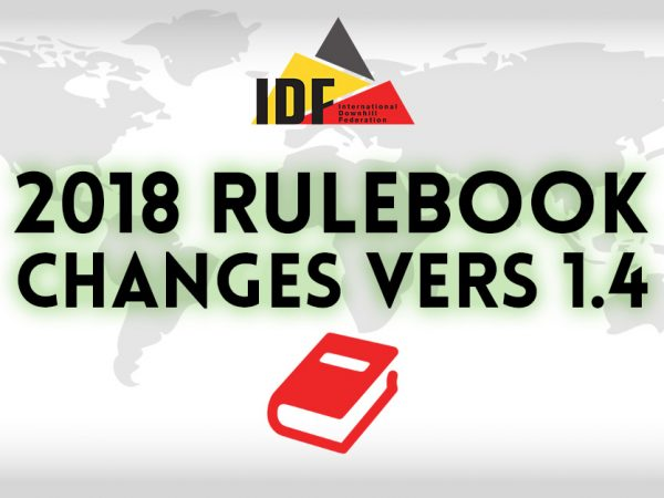 2018 IDF Rule Changes